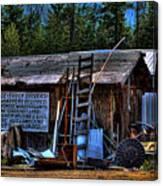 Priest Lake Lumber Mill Canvas Print