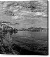Priest River Panorama 2 Canvas Print