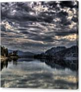Priest River Panorama 3 Canvas Print