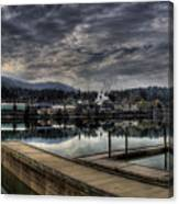 Priest River Panorama 7 Canvas Print