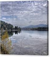 Priest River Panorama 8 Canvas Print