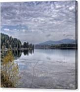 Priest River Panorama 8 Canvas Print