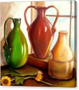 Primarily Jugs. Sold Canvas Print