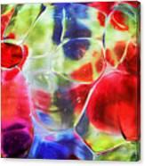 Glassy Art Canvas Print