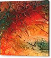 Primitive Abstract 1 By Rafi Talby Canvas Print