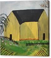 Primitive Folk Canvas Print