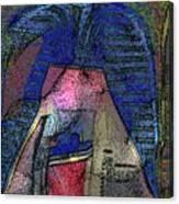 Primitive Style Canvas Print