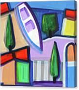 Primorski Pejsaz  11 Canvas Print