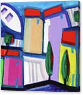 Primorski Pejsaz  12 Canvas Print