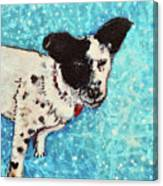 Primrose Water Love Canvas Print