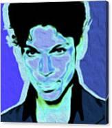 Prince Blue Nixo Canvas Print