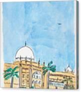 Prince Of Wales Museum Mumbai Canvas Print