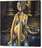 Princess Dejah Thoris Of Helium Canvas Print