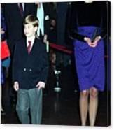 Princess Diana Harry Canvas Print