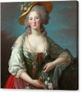 Princess Elisabeth Of France Canvas Print