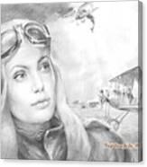 Princess Eugenie M Shakhovskaya Historic Czar Russia Featured By Angelina Jolie Canvas Print