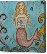 Princess Mermaid Canvas Print