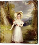 Princess Victoria Aged Nine Canvas Print