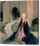 Princess With A Spindle Canvas Print