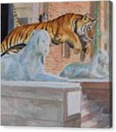 Princeton Tiger Canvas Print