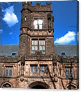 Princeton University East Pyne Hall  Canvas Print