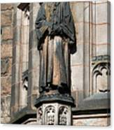Princeton University J Witherspoon Statue  Canvas Print