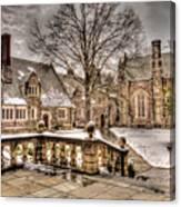 Snow / Winter Princeton University Canvas Print