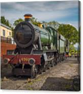 Print Of Gwr 6960 'raveningham Hall, Sits At Bishops Lydeard On  Canvas Print