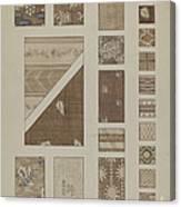 Printed Cotton Canvas Print