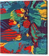 Printed Saltillo Canvas Print