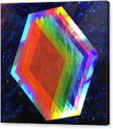 Prismatic Dimensions Canvas Print