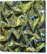 Prismic Sea Canvas Print