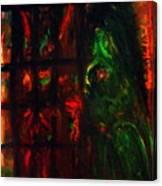 Prison Of Evil. Canvas Print