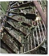 Prison Spiral Staircase Canvas Print