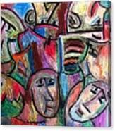 Prisoners By Rafi Talby Canvas Print
