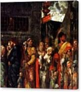 Prisonnniers 1506 Canvas Print