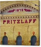 Pritzlaff Canvas Print
