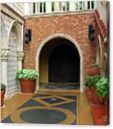 Private Entrance Canvas Print