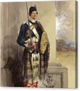 Private In The Duke Canvas Print