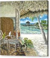 Private Island Canvas Print