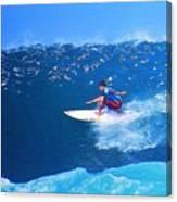 Pro Surfer Ezekiel Lau-3 Canvas Print