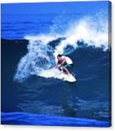 Pro Surfer Gabe King - 3 Canvas Print