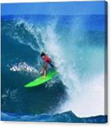 Pro Surfer Keanu Asing-2 Canvas Print