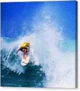 Pro Surfer-nathan Hedge-4 Canvas Print