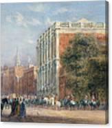 procession with Queen Victoria Canvas Print