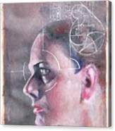 Profile Measured Canvas Print