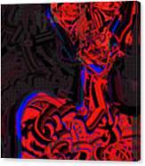 Profiling Canvas Print