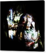 Projection - Body 2 Canvas Print
