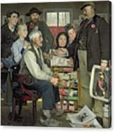 Propaganda Canvas Print