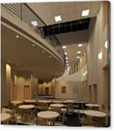 Proposed Performing Arts Lobby Canvas Print